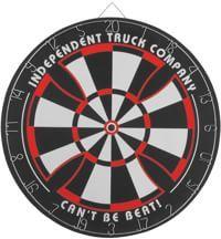 Independent Bullseye Dart Board - black
