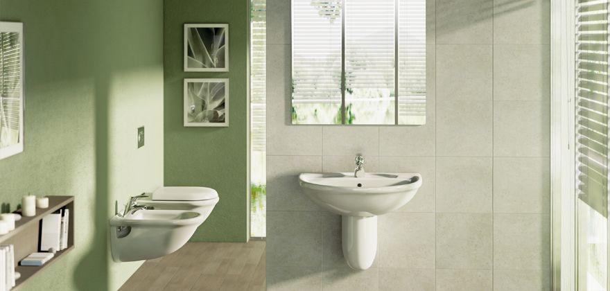 Collezione Esedra | Ideal Standard | arredare bagno | Pinterest