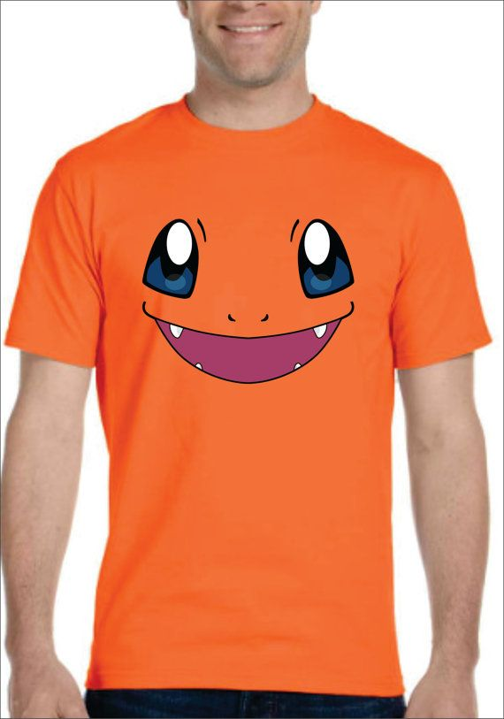 b0ead9613 Inspired by Charmander face Pokemon T-shirt Men's Women's kids | UNI ...
