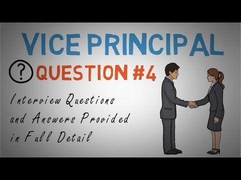 Vice Principal Interview Question 4 Of 10 Principal Interview Questions Assistant Principal Interview Questions Interview Questions