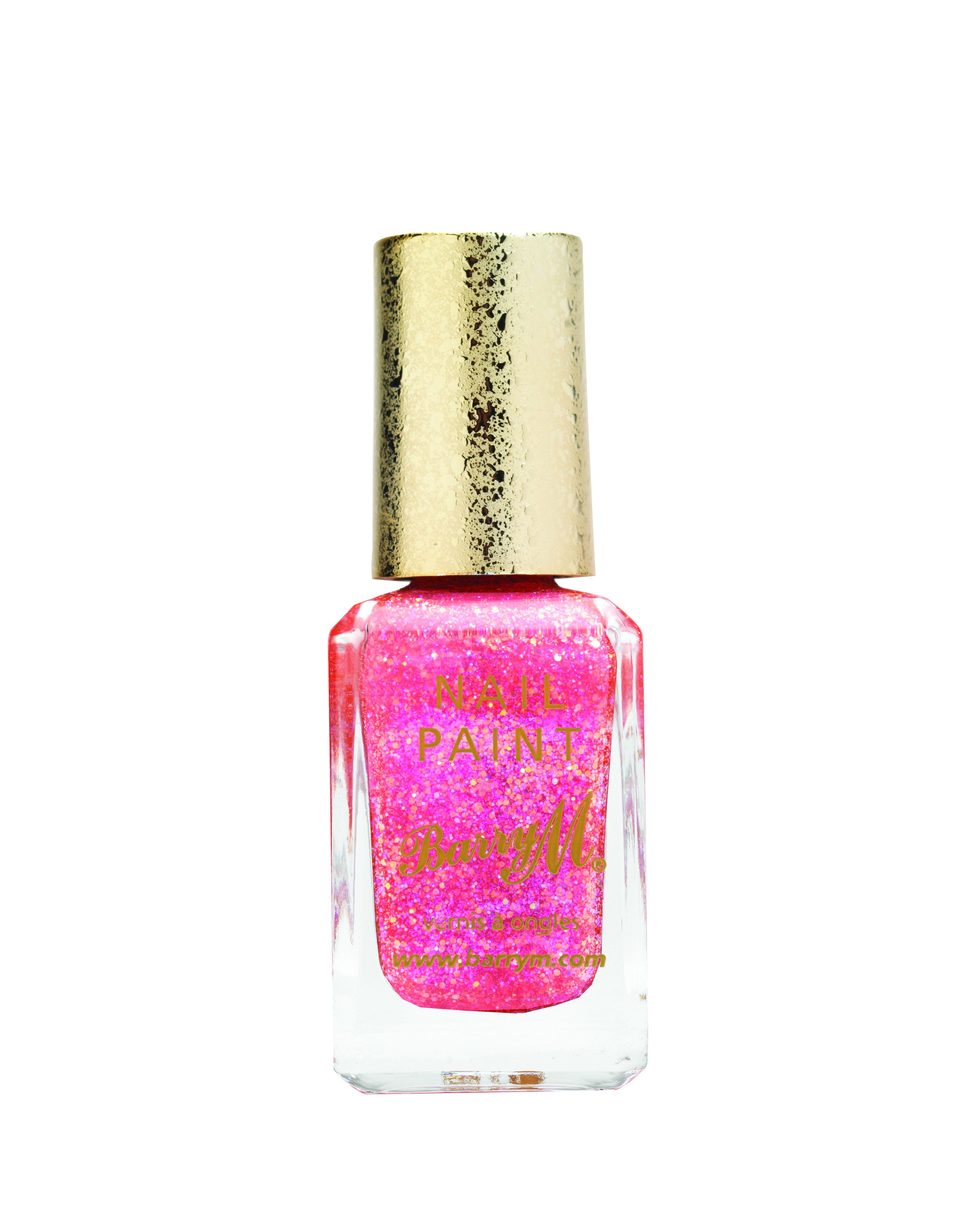 Barry M Glitterati Nail Paint in Starlet