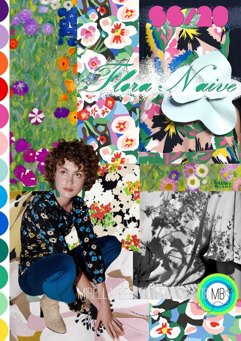2019 wohndesign fashion vignette trend  mirella bruno  flora naive  ss   ss