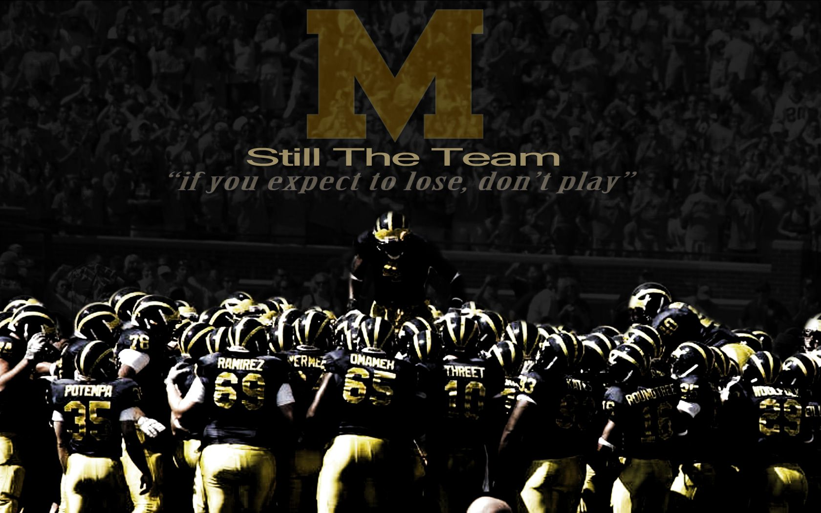 Free Michigan Wolverines Football Wallpaper Wallpapersafari
