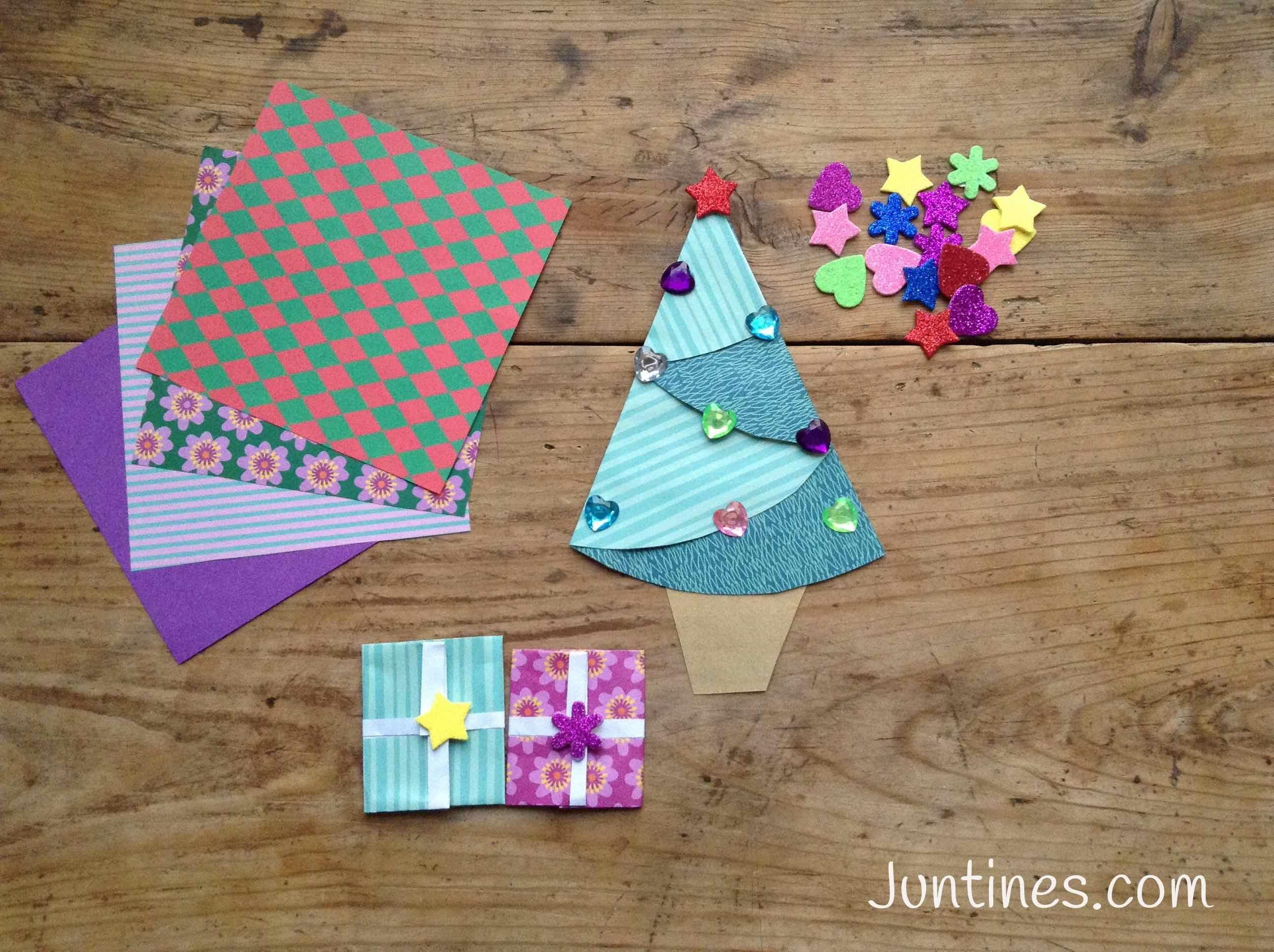 Rbol De Navidad Navidades Juntines Christmas Pinterest  ~ Crismas De Navidad Hechos Por  Ninos