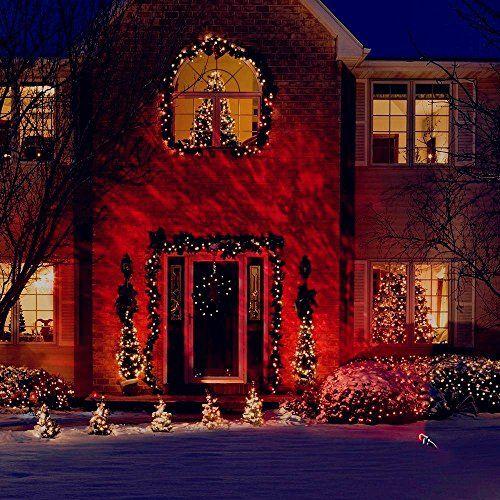 Fedpop Christmas Decoration Lights Outdoor Indoor Flame Kaleidoscope