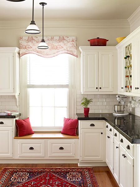 A Young Couple Tackles A Forgotten Italianate. Window Seat KitchenKitchen  ...