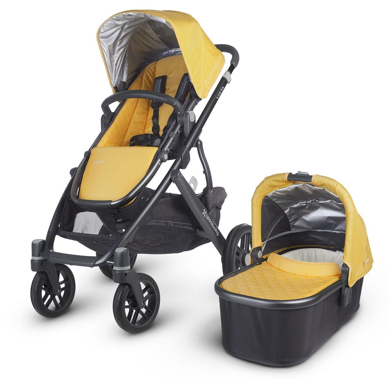 UPPAbaby Vista 2015 with Carrycot Maya. Building on the
