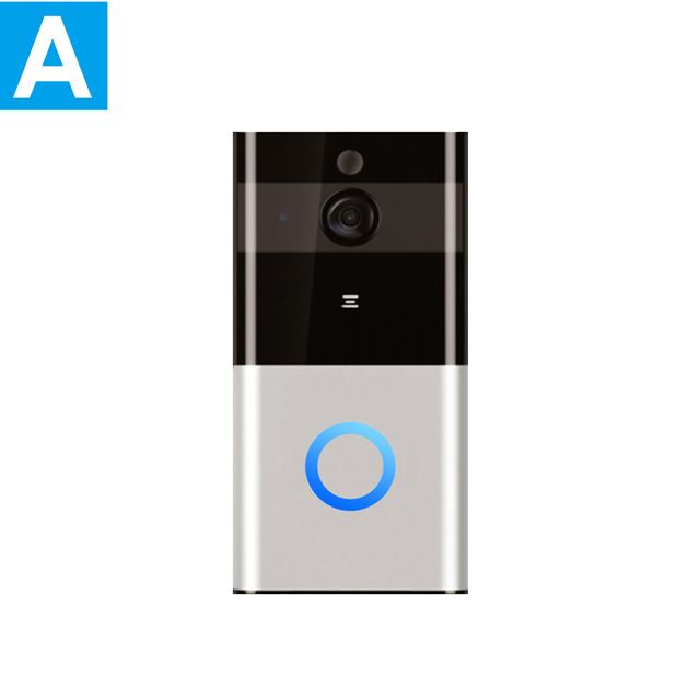Smart Wifi Video Doorbell See, hear and speak to anyone at