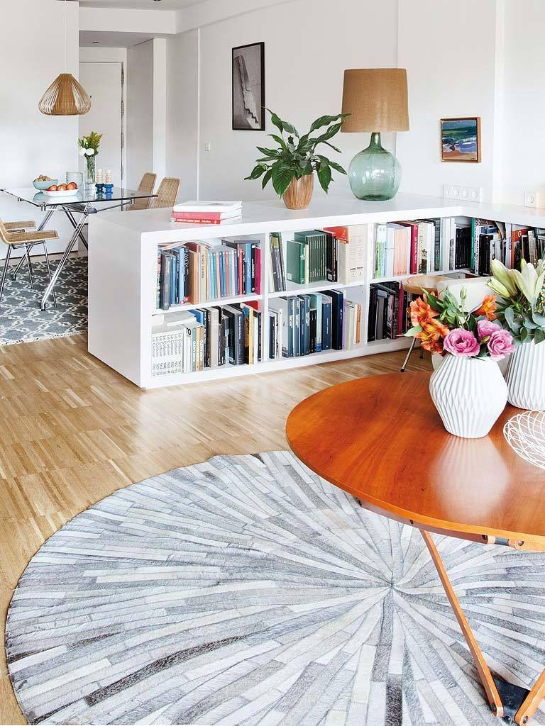 Sitting Room White Bookshelves