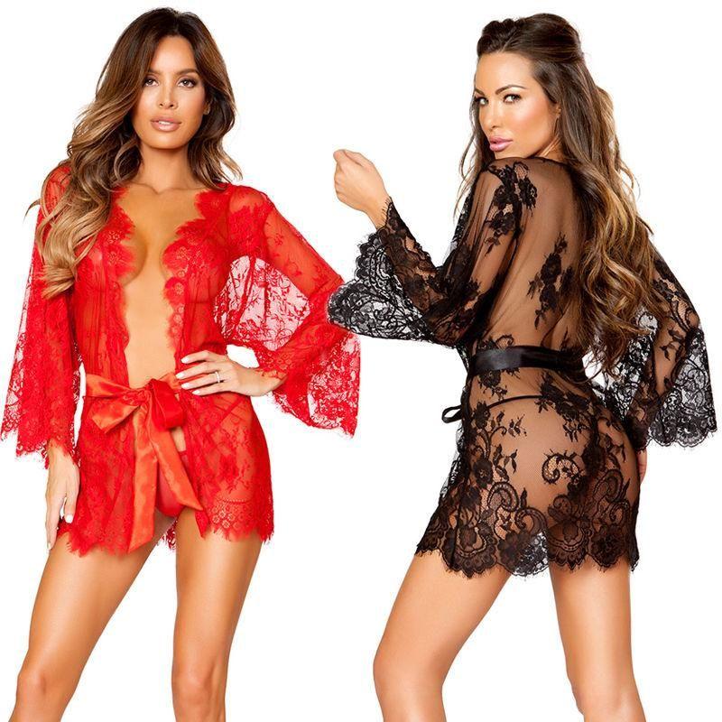 b7088313ee US Lady Lace Sexy-Lingerie Nightwear Underwear G-string Babydoll Sleepwear  Dress