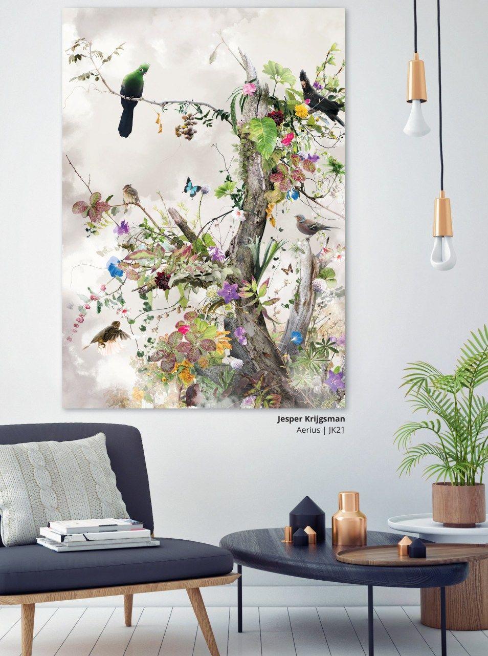 Stijlidee Stylingtip Selecteer Wanddecoratie Met De App Van Werk Aan De Muur Muur Kunst Woonkamer Decoratieve Muren Keuken Kunst Aan De Muur