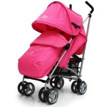 Zeta Vooom Pink With Free RainCover