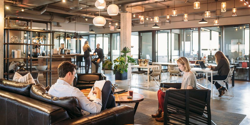 Coworking Redefined Beautiful Glass Offices Inviting Hospitality And Inspiring Community Thoughtful A Shared Office Space Office Space Private Office Space