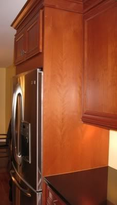 (1) 26u0027u0027 Deep Finished End Panel Is The Depth Of The Refrigerator