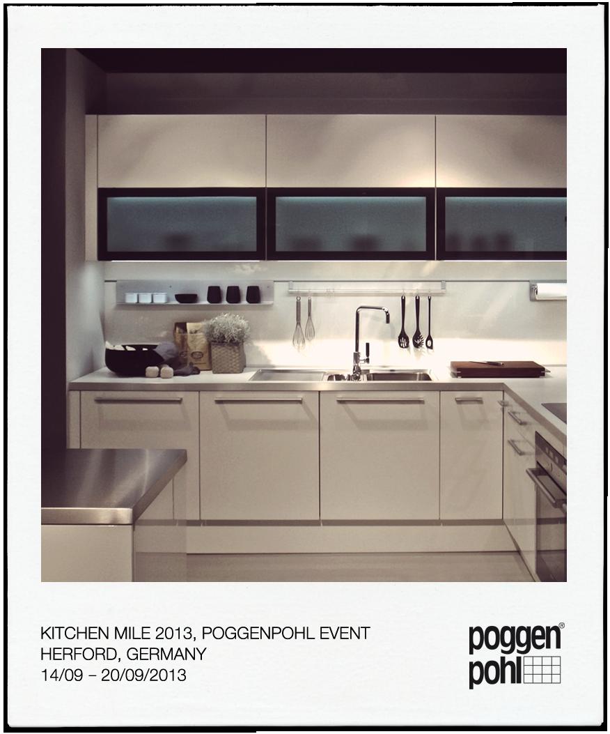 Kitchen Mile 2013, Poggenpohl Event Herford, Germany