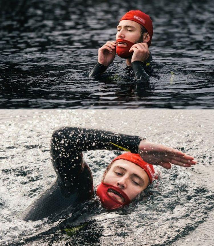 touca de natação