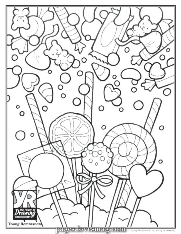 Charismatic Sweet Coloring Web Page Sweet Coloring Web Page Sugar Cranium Coloring Pages Skull Coloring Pages Candy Coloring Pages Cute Coloring Pages