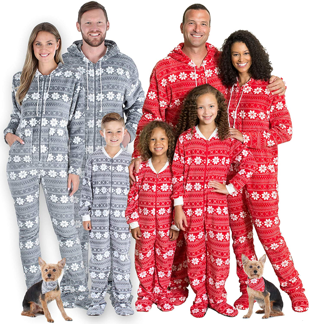 SleepytimePJs Matching Family Christmas Pajama Sets