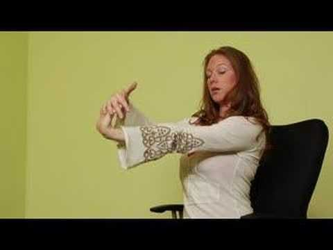 office chair yoga stretches  office chair yoga wrist