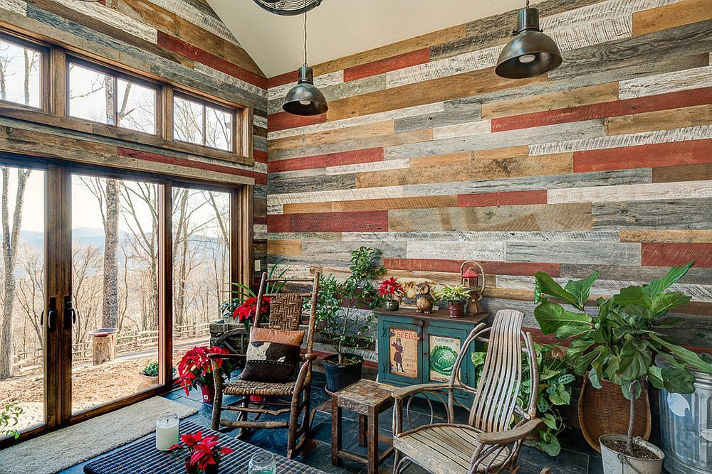 Timeless Allure 30 Cozy And Creative Rustic Sunrooms Rustic Sunroom Sunroom Designs Rustic
