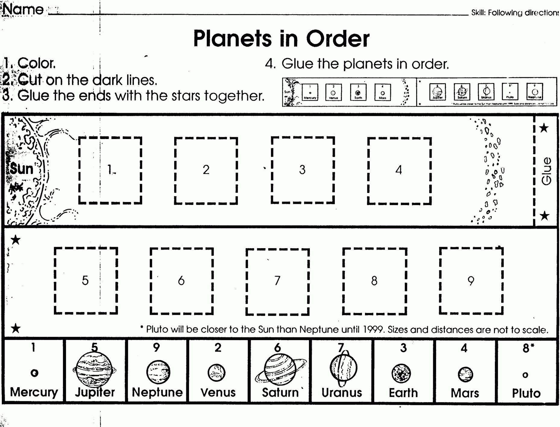 11 Science Tools Worksheet Kindergarten
