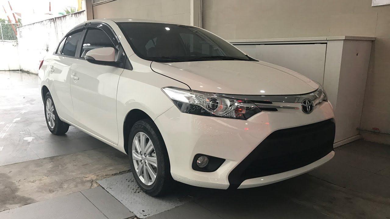 Giá xe Toyota Vios 2017-2018 số tự động 1.5G CVT màu trắng  Toyota Vios ...
