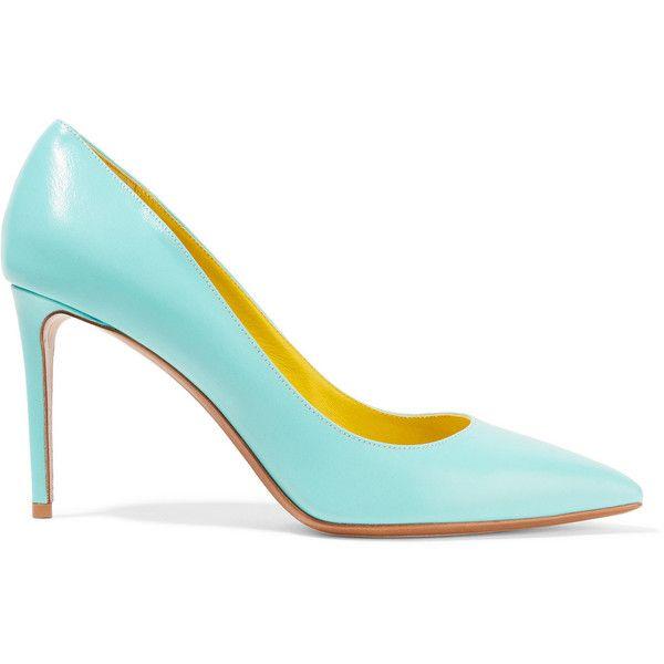 Nicholas Kirkwood Turquoise Leather Heels Sb0UIefFF