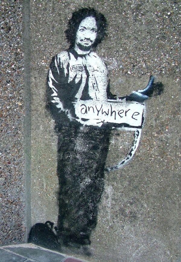 Anywhere Banksy, Street art, Art