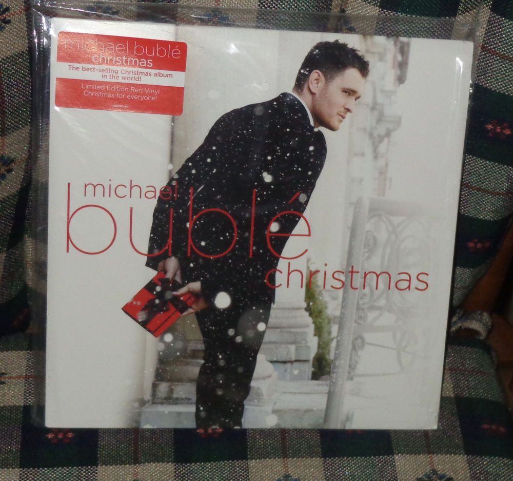 Michael Buble Christmas Album.Michael Buble Christmas Vinyl Record New Sealed Ebay