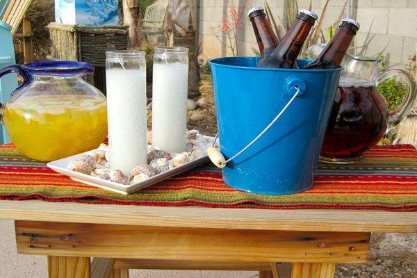 Caribbean Party Ideas And: Caribbean Beach Theme Party