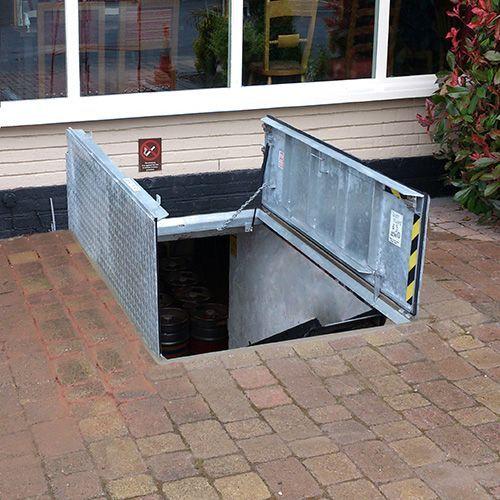 Deck Bilco Door Access Floor Foundation Washer