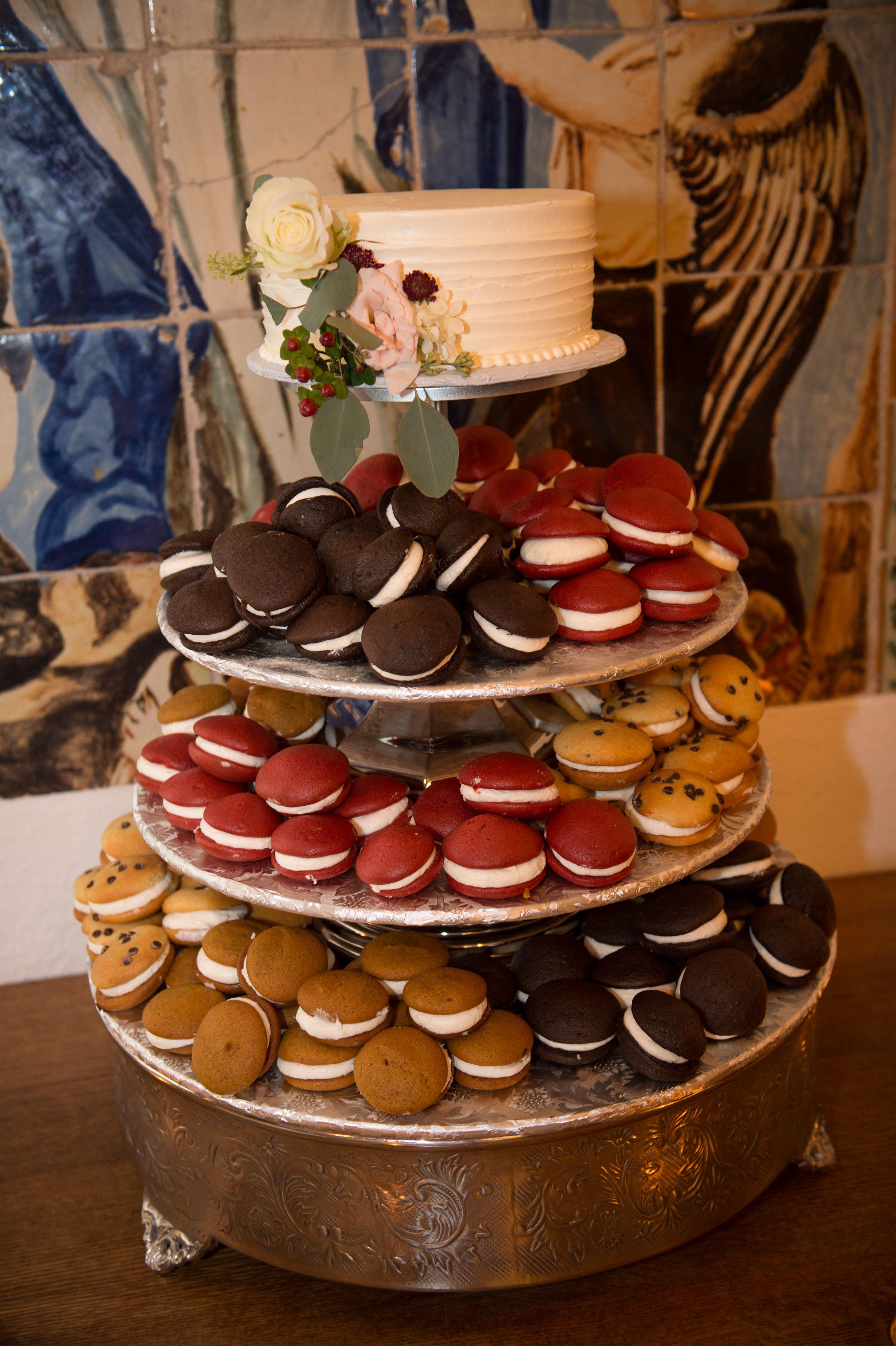 Wedding Reception At Wedding Cake Alternatives Pie Wedding Cake