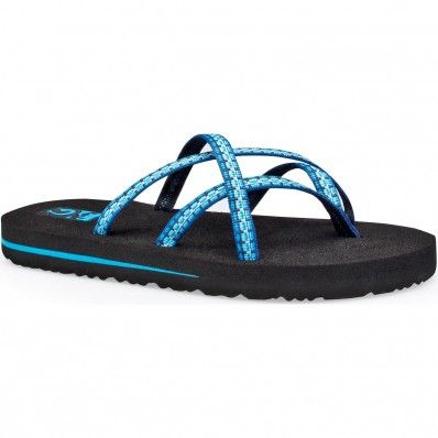 aebdc8383 Teva Olowahu Melted Pool Blue at Flopestore Malaysia