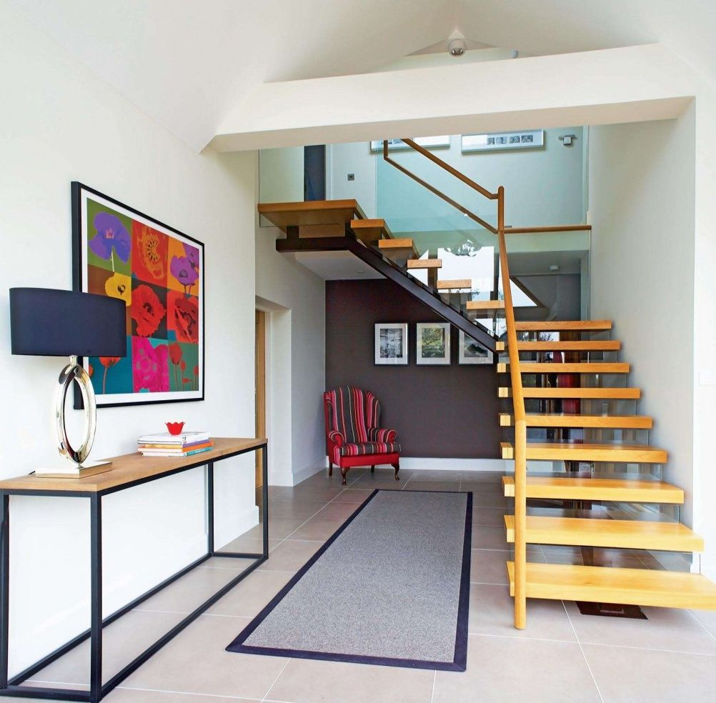 Best Modern Staircase In Remodelled Bungalow Basement 640 x 480