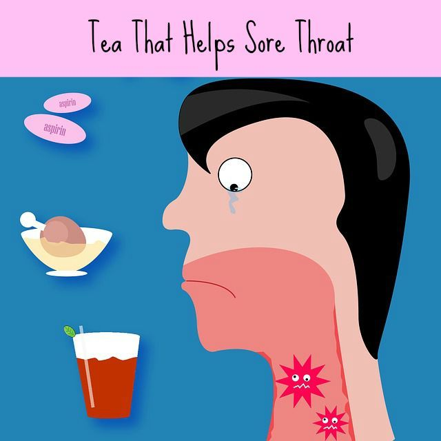 Herbal sore throat tea offers an alternative to OTC cold preparations, which can cause side effects, sometimes serious.