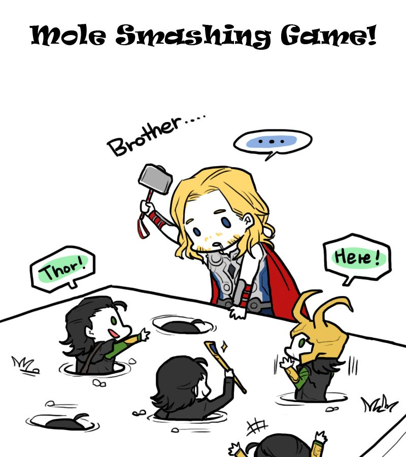 """""""Whack-a-Loki"""" (by rots21)"""