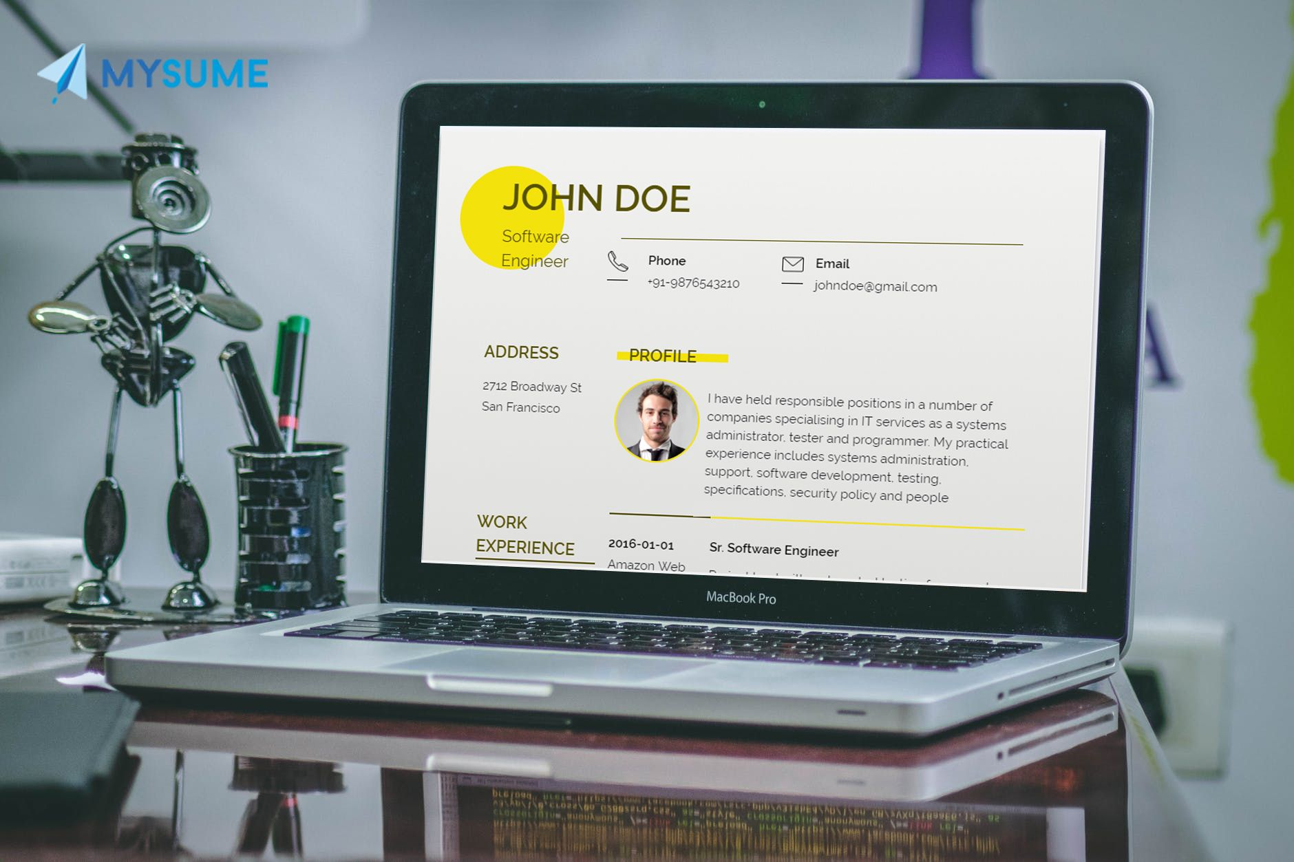 Online resume builder, Online resume