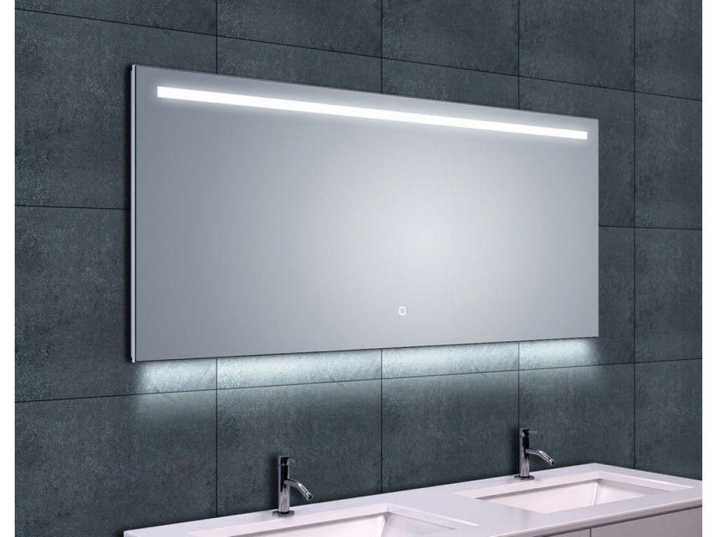 Led Spiegel Badkamer : Sanitairsupershop badkamer spiegels spiegelsmetverlichting