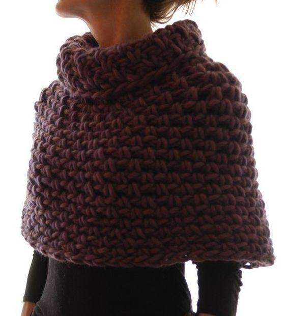 Instructions to make: Magnum Capelet 4 (crochet) PDF crochet pattern ...