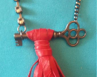 Upcycled Vintage Necklace by 205maple on Etsy