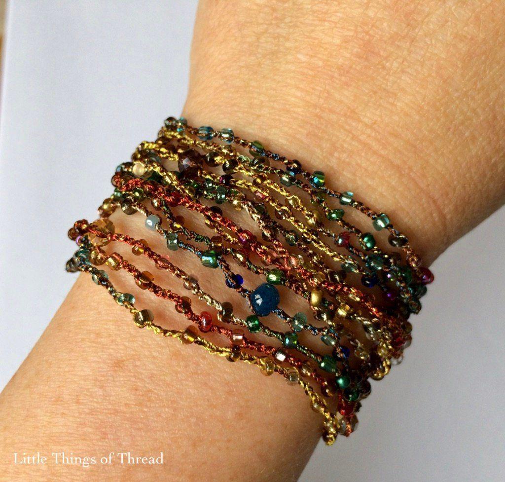 Multicoloured bracelet bracelet for women bracelet for wife