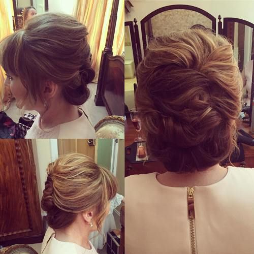 Wedding Hairstyle With Bangs: 40 Ravishing Mother Of The Bride Hairstyles