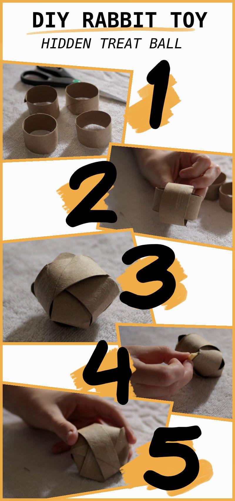 5 diy easy rabbit chew toys to make diy bunny toys