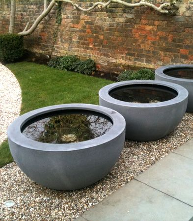 Mortar 95 as water bowl flowers landscaping looks pinterest water features water and gardens - Water garden containers for sale ...