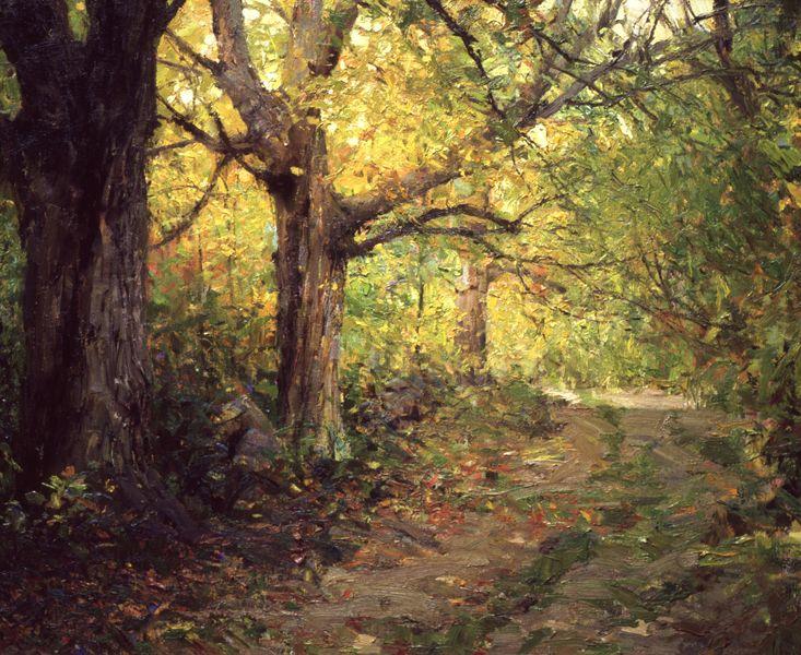 Sugar Maples By Richard Schmid Landscape Artist Landscape Paintings Oil Painting Landscape