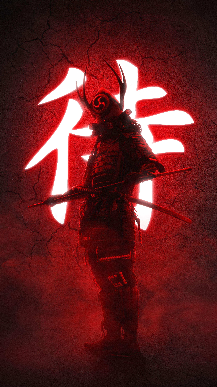 Https Images Wallpaperscraft Com Image 174444 3260x5796 Jpg In 2020 Samurai Artwork Samurai Wallpaper Warriors Wallpaper