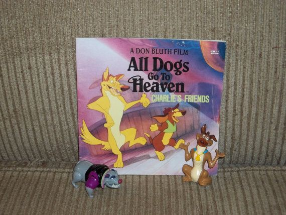 All Dogs Go To Heaven Storybook Plus Charlie And Carface Toys