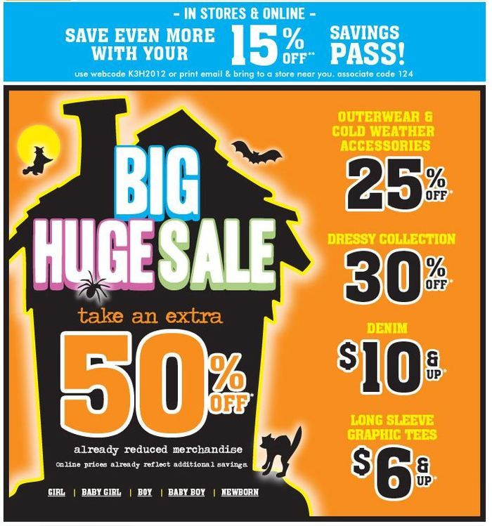 The Childrens Place coupon & The Childrens Place promo code from The  Coupons App. off and more at The Childrens Place, or online via promo code  January