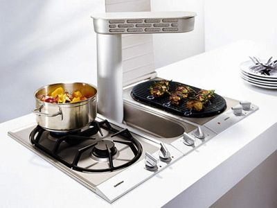 Pop Up Gas Cooktop With Downdraft Ventilation Appliances Gaggenau Kitchen Pinned By Www Modlar Com Gaggenau Gaggenau Appliances Outdoor Kitchen Design