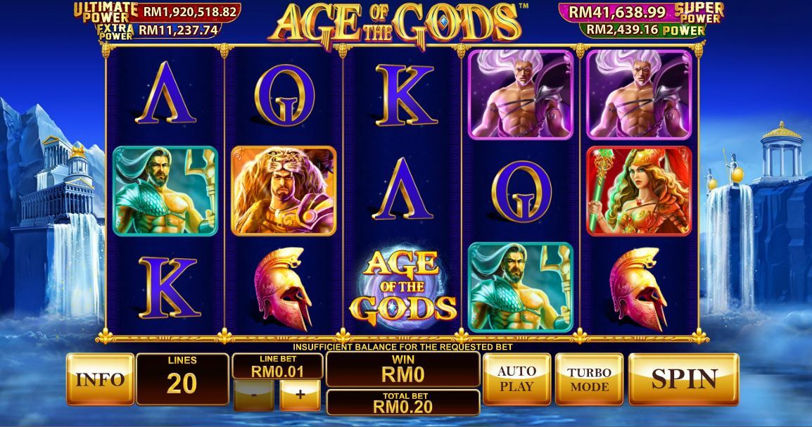 Enjoy FREE spins, BONUS rounds and JACKPOT with 'Age of